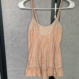 Peachy tank top